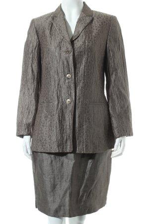 BERRI Sport Couture Kostüm khaki Blumenmuster Eleganz-Look