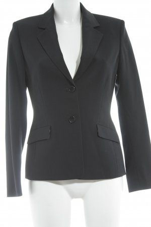 Berri Sport Couture Blazer long bleu foncé style simple