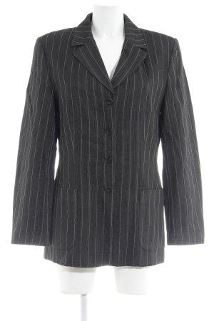 Berri Sport Couture Tuxedo Blazer dark grey-white pinstripe business style