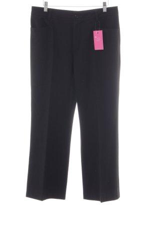 berri Pantalon en jersey noir style classique