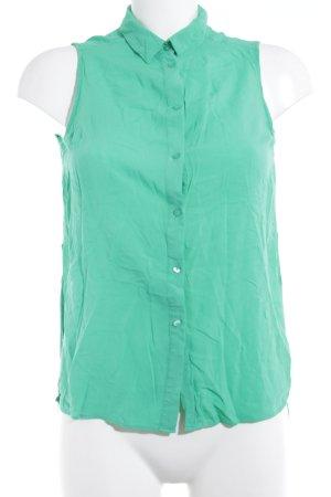 Bershka ärmellose Bluse grün Casual-Look