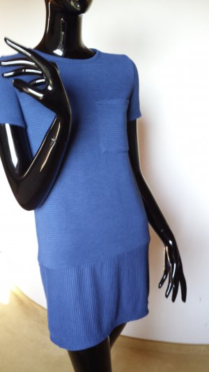 bershka blaues kurzes Kleid Gr. S