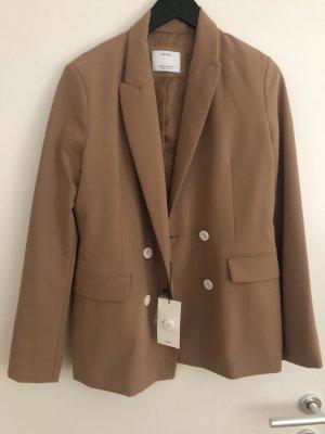 Bershka Boyfriend Blazer bronze-colored-brown
