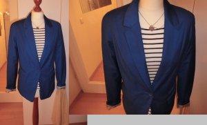 Bershka Blazer Sakko blau royal Trend L 40 Business chic Fashion