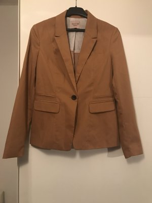 Bershka Sweat Blazer sand brown