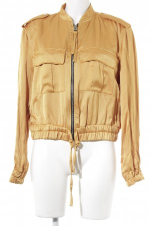 Bershka Blouson light orange casual look