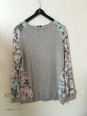 Bershka Blumen lang Arm Shirt