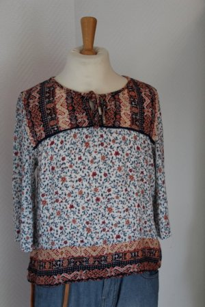 Bershka Tunique-blouse multicolore viscose