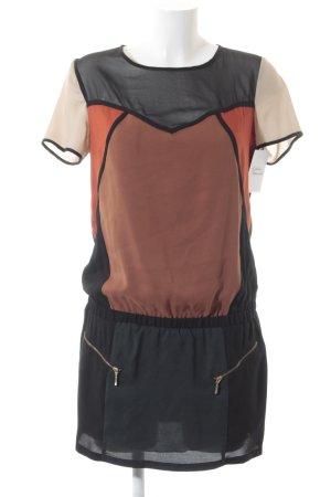 Bershka Blusenkleid mehrfarbig Street-Fashion-Look