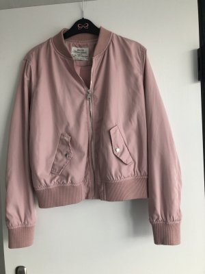 Bershka Giacca bomber rosa antico