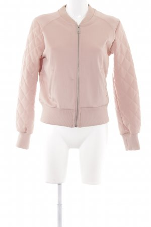 Bershka Bomber Jacket nude simple style