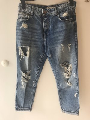Bershka Boyfriend Jeans multicolored