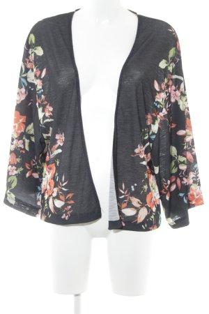 Bershka Cardigan florales Muster Casual-Look