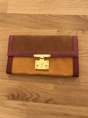 BERSHKA Clutch, Color Blocking