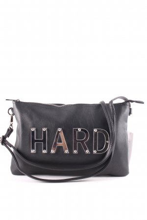 Bershka Clutch schwarz Casual-Look