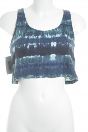 Bershka Cropped Top Batikmuster Beach-Look