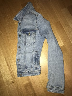 Bershka Denim Jacket multicolored