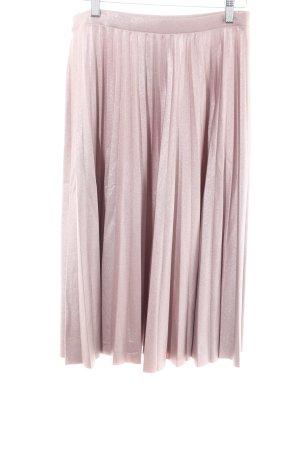 Bershka Faltenrock pink Casual-Look