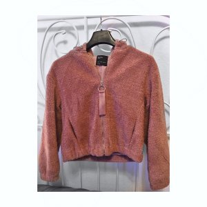 Bershka Fur Jacket multicolored