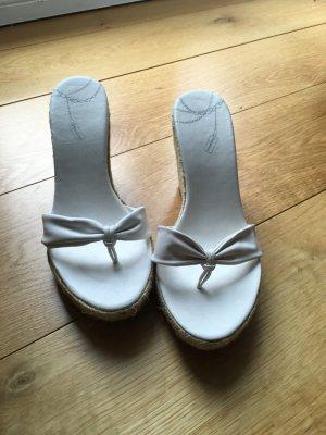 Bershka Flip-Flop-Wedges