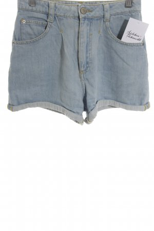 Bershka High Waist Jeans blassblau Casual-Look