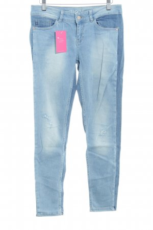 Bershka High Waist Jeans nude Casual-Look