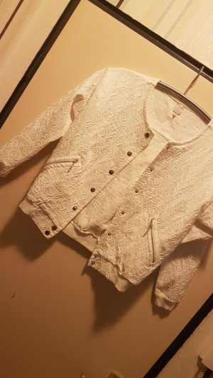 Bershka Oversized Jacket natural white