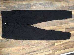 Bershka Hoge taille jeans zwart