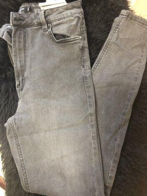 Bershka Jeans Grey Gr 38