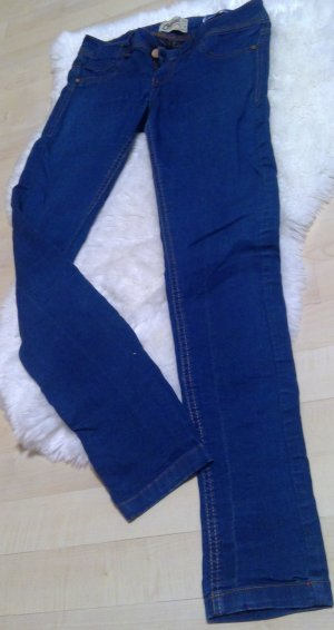 Bershka Jeans Jeggins blau Größe 36