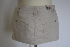 Bershka Jeans Mini Rock creme