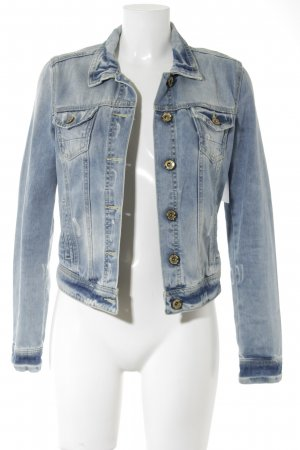 Bershka Denim Jacket azure casual look