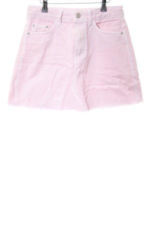 Bershka Jeansrock pink Casual-Look