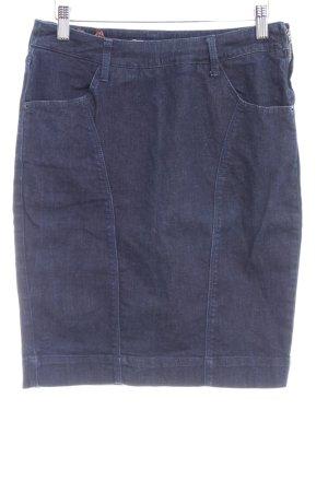 Bershka Jeansrock dunkelblau Casual-Look