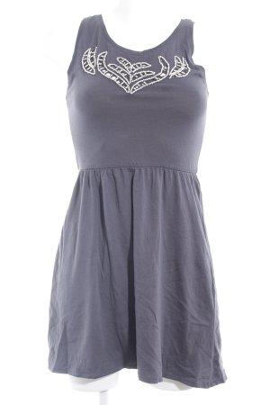 Bershka Jerseykleid mehrfarbig Elegant