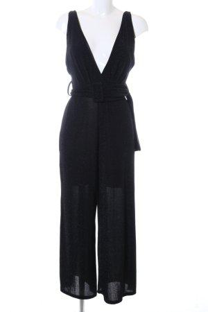 Bershka Jumpsuit black business style