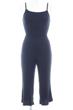 Bershka Jumpsuit dunkelblau Casual-Look