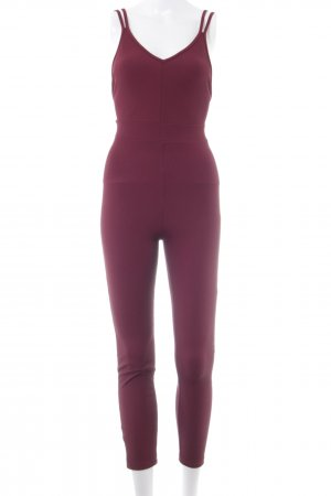 Bershka Jumpsuit rot Casual-Look