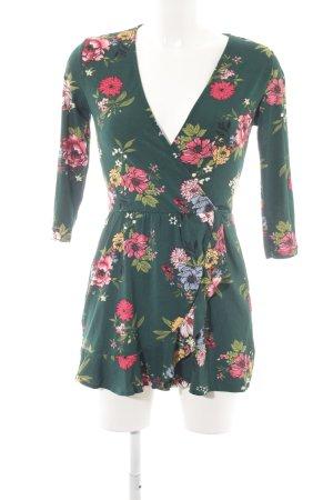Bershka Jumpsuit florales Muster Boho-Look