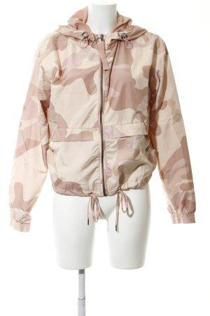 Bershka Hoody brown-natural white camouflage pattern casual look