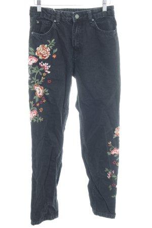Bershka Jeans carotte multicolore style décontracté