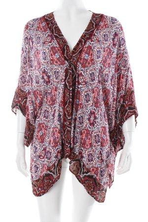 Bershka Kimono Blumenmuster Boho-Look