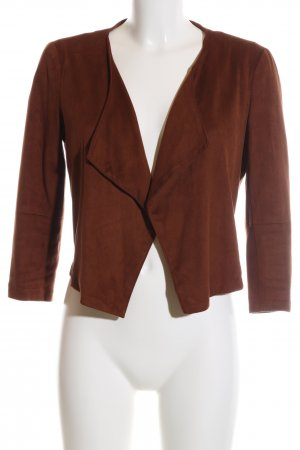 Bershka Kurzjacke braun Business-Look