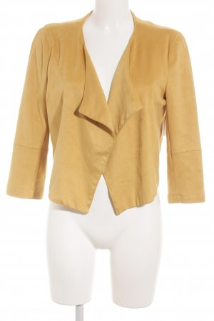 Bershka Short Jacket dark yellow Boho look