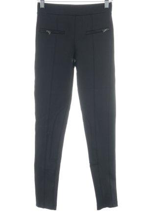 Bershka Leggings schwarz schlichter Stil