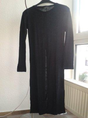 Bershka Longsleeve mit Slit, Kleid