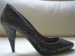 bershka mega sexy pumps neu 38 buero business snakeprint