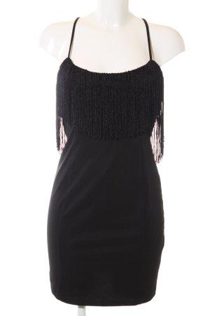 Bershka Minikleid schwarz Elegant