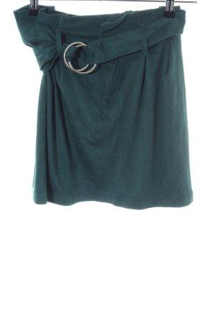 Bershka Mini rok groen casual uitstraling