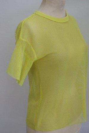 Bershka Netshirt geel